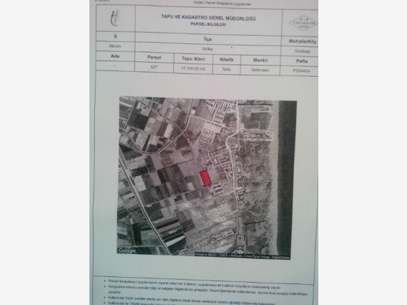 Mersin Merkez Satılık Villa Arsası