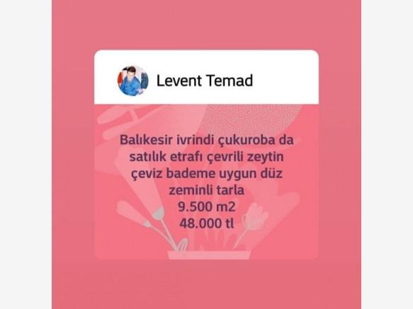 İzmir Mahmudiye Satılık Tarla